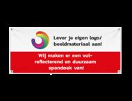 Spandoek - Met logo en/of beeldmerk