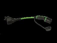 Adapter type 2 (mode 3) naar Schuko (230v)