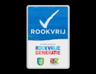 Rookvrij – Informatiebord – Op weg naar een Rookvrije generatie + logo(s)