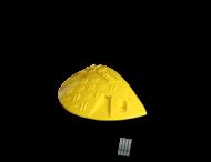 Snelheidsremmer 10km/h eindstuk 470x230x75mm