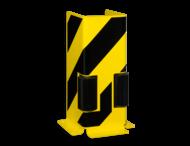 Aanrijbeveiliging -  profiel met geleidingswiel 400x160x6mm
