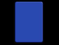 Basisbord omgezette rand - type 2:3 - rondom gepoedercoat