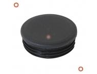 Aanrijbeveiliging - Inslagdop voor stalen vloerbalk Ø76x200 mm hoog Black Bull