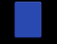 Basisbord omgezette rand - type 4:3 - rondom gepoedercoat