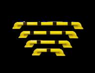 Aanrijbeveiliging - Stalen vloerbalk  Ø60x115 mm hoog (SH2)