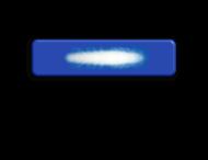 Basisbord omgezette rand - parkeerplaatsbord - rand gespoten
