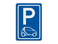 Parkeerbord type E08 automerk - SMART