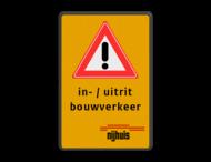 Verkeersbord RVV J37 + 3 txt_logo