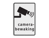 Verkeersbord camerabewaking basic