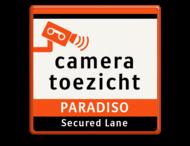 Verkeersbord Cameratoezicht | PARADISO
