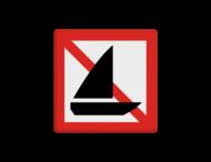 Scheepvaartbord BPR A.15
