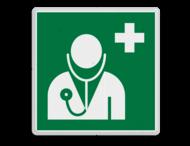 Veiligheidspictogram - Arts eerste hulp - E009