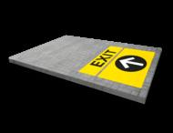 Markering - wegenverf - logo/huisstijl in parkeervak