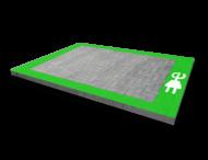 Markering - wegenverf -  Oplaadpunt G3-stekker - kader