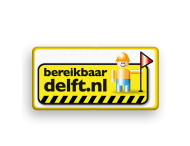 Informatiebord bereikbaar Delft
