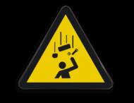 Pictogram W035 - Gevaar voor vallende voorwerpen