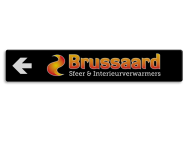 Verwijsbord BRUSSAARD 2000x350x32mm  full-colour