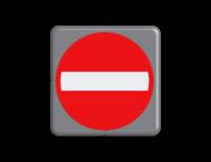 Verkeersbord MINI 300x300x28 - RVV C02