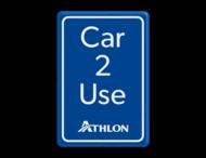Informatiebord parkeerplaats - Car 2 Use