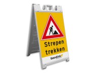 CarrySign TS 635x1140mm - stoepbord vol reflecterend