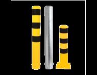 Afzet-, rampaal (SH2) Ø152mm doorsnede - zelf te verzwaren met beton