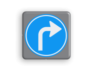 Verkeersbord MINI 300x300x28 - RVV D05r