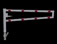 Draaiboom (SH2) hoogte 950mm - Automatisch Vergrendeld - Bodemmontage (verzinkt)