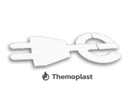 Markering E-laad logo thermoplast