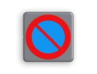 Verkeersbord MINI 300x300x28 - RVV E01
