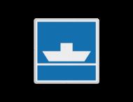 Scheepvaartbord BPR E. 4