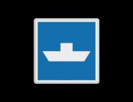Scheepvaartbord BPR E. 4.1