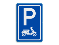 Parkeerbord type E08 scooters