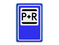 Verkeersbord RVV E12 - Park & Ride