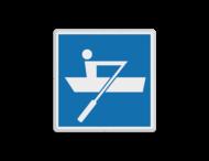 Scheepvaartbord BPR E.19