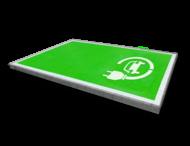 Markering - wegenverf -  Oplaadpunt G3-stekker - volvlak