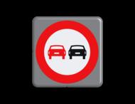 Verkeersbord MINI 300x300x28 - RVV F01