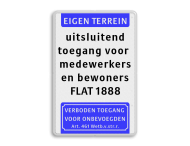 Tekstbord 400x600mm et-5txt-vt461