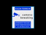 Camerabewaking - Eigen terrein - Art. 461