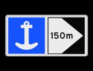 Scheepvaartbord BPR E. 6-F2a