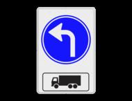 Routebord RVV D05l + picto - BT15l