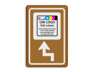 Bewegwijzering LOGO  BW101 + pijlfiguratie
