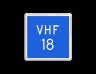 Scheepvaartbord BPR E.21