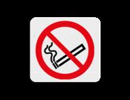 TBW Verboden te roken 119x109mm - klasse 3
