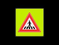 Verkeersbord RVV J22f
