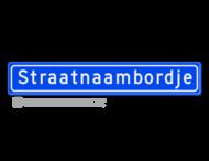 Straatnaambord 16 karakters 900x150 mm NEN 1772