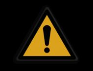 Veiligheidspictogram - Algemene Waarschuwing - W001