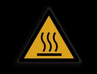 Veiligheidspictogram - Warm oppervlak- W017