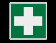 Veiligheidspictogram - Eerste hulp - E003