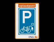 Informatiebord - Oplaadpunt Fietsen - ING