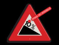 Verkeersbord RVV J07